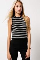 Azalea Sleeveless Stripe Top