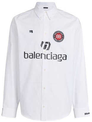 Balenciaga Long sleeve soccer shirt