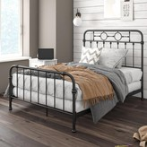 Little Seeds Willow Black Metal Kid's Bed - Full