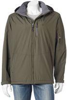 Izod Men's Fleece-Lined Open-Bottom Jacket