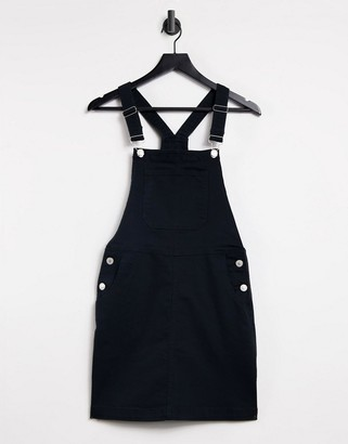 Brave Soul pippa denim dungaree pinafore dress