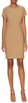 Ava & Aiden Cut Out Collar Sheath Dress