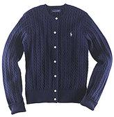 Ralph Lauren Big Girls 7-16 Cardigan Sweater