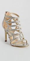 Camille La Vie High Heel Rhinestone Birdcage Sandal