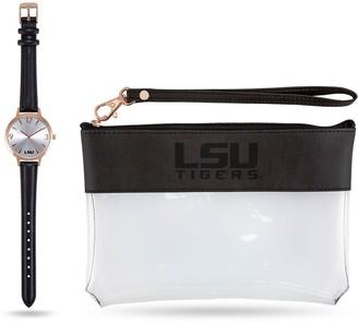 Women's Sparo LSU Tigers Watch & Wallet Gift Set