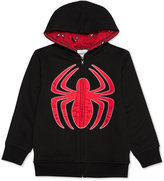 Spiderman Little Boys' Zip-Up Hoodie