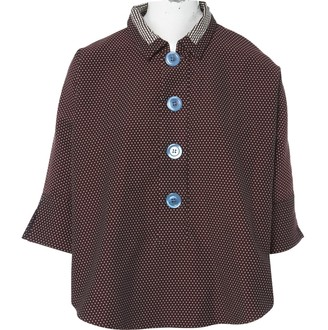Jour/Né Jour/ne Burgundy Cotton Tops