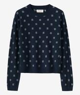 Toast Jacquard Merino Sweater