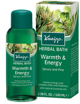 Kneipp Warmth and Energy (Spruce + Pine) Herbal Bath by 3.4oz Bath)
