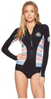 Rip Curl G Bomb Long Sleeve Spring Suit Hi Cut Women's Wetsuits One Piece
