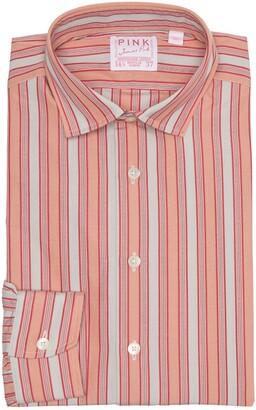 Thomas Pink Portland Vintage Stripe Print Dress Shirt