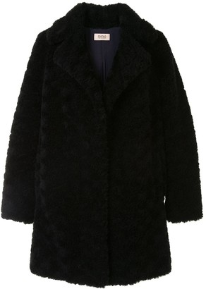 Yves Salomon Fluffy Wool Coat