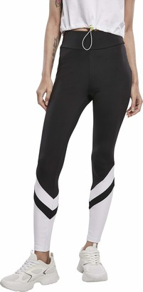 Urban Classics Women's Ladies Arrow High Waist Leggings