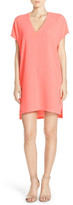 Felicity & Coco V-Neck Crepe Shift Dress