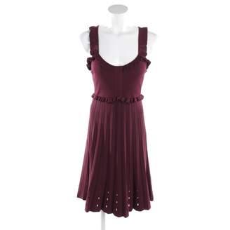 Sandro Burgundy Synthetic Dresses
