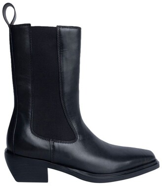 Tony Bianco Dua Black Como Ankle Boots
