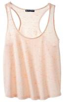 Petit Bateau Womens round neck vest top in fluorescent slub jersey