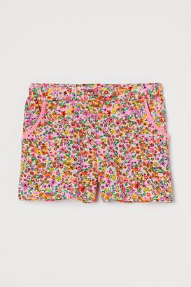 H&M Cotton Jersey Shorts