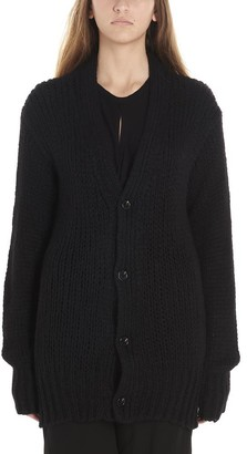 Ann Demeulemeester Knitted Button-Up Cardigan