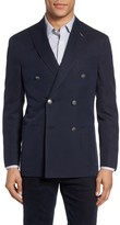 Michael Bastian Men's Classic Fit Double Breasted Blazer