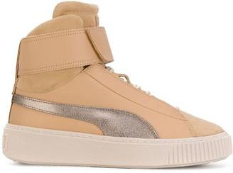 Puma hi-top sneakers