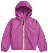 K-Way Claude 3.0 Hooded Waterproof Windbreaker Jacket (Big Girls)