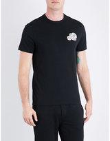 Moncler Logo patch appliqué cotton-jersey T-shirt