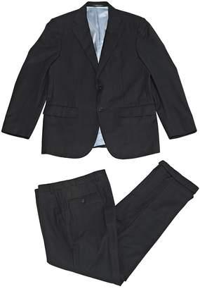 Corneliani Black Wool Suits