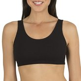 Fruit of the Loom Women's Built-Up Sports Bra, (Pack of 3)