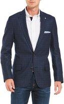 Daniel Cremieux David Mini-Check Wool Blazer
