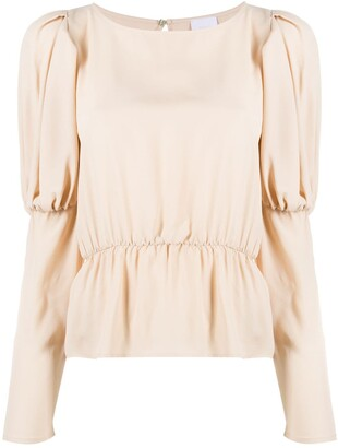 Merci Puff Sleeve Blouse