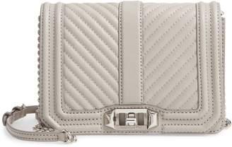 Rebecca Minkoff Small Love Leather Crossbody Bag
