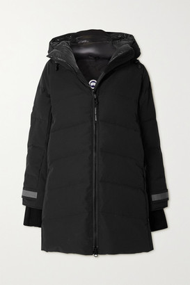 Canada Goose Merritt Hooded Quilted Shell Down Coat - Black