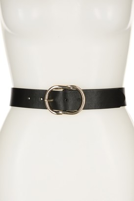 Linea Pelle Metal Knot Buckle Belt