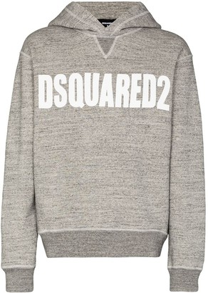 DSQUARED2 Vertical logo hoodie