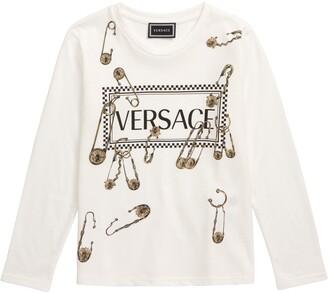 Versace Safety Pin Logo Tee