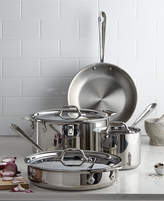 All-Clad Stainless Steel 7-Pc. Cookware Set, Only at Macy's