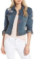 Women's Billy T Embroidered Denim Jacket