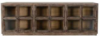 Pottery Barn Webb Glass Media Console