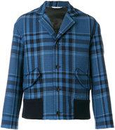 Valentino tartan jacket - men - Silk/Cotton/Polyamide/Metallic Fibre - 50