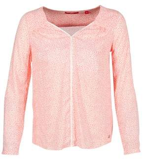 S'Oliver MELNIAME women's Blouse in Pink