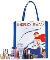 Estee Lauder 8 Pieces Skin Care and Makeup Gift Set with Exclusive Harper's Bazaar Iconic Cover-Print Tote Bag by