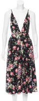 Reformation Floral Print Midi Dress