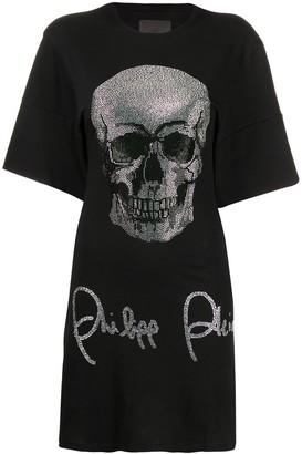 Philipp Plein T-shirt dress SS Skull