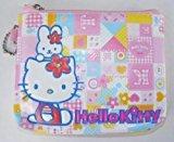 "Hello Kitty 3D 3.5""x4.5"" Zipper Cosmetic Bag"