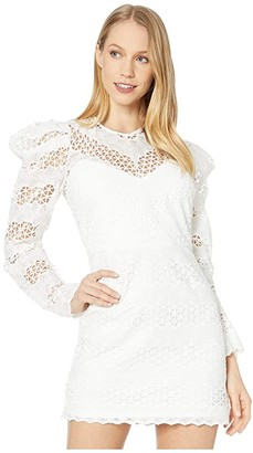 Bardot Lana Lace Dress (Ivory) Women's Dress
