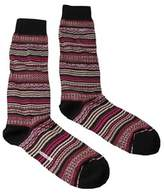 Missoni Gm00cmu5236 0002 Pink/cream Knee Length Socks.