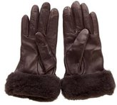 UGG Leather Shearling Gloves w/ Tags