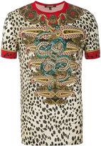 Roberto Cavalli leopard paisley print T-shirt - men - Cotton - L