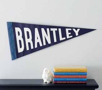 Pottery Barn Kids Personalized Pennant Flag